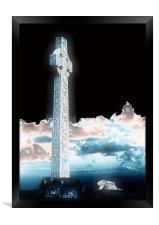 Celtic Cross, Framed Print