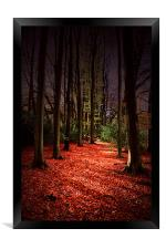 Autumn Carpet, Framed Print
