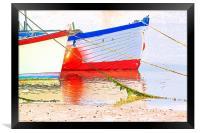 Low Tide, Framed Print