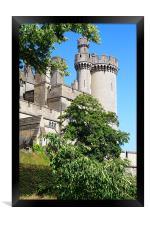 Arundel Castle and Grounds, Framed Print