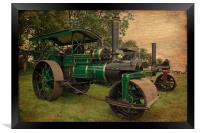 Old Timers, Framed Print