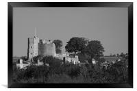 Lewes Castle, Framed Print