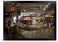 HMS Victory, Framed Print
