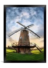 Wilton Windmill, Framed Print