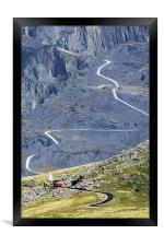 Snowdon Mountain Railway, Framed Print