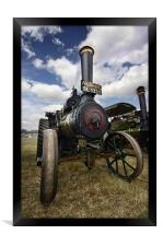 Traction Engine, Framed Print