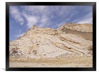 Holy mountain, Framed Print
