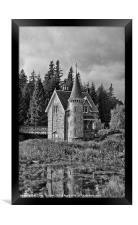 Ardverikie Gatelodge, Framed Print