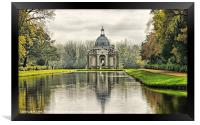 The Pavillion Wrest Park, Framed Print