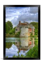 Scotney Castle, Framed Print