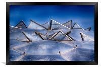 Eden Project Roof, Framed Print