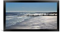 Glistening shore, Framed Print