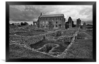 St Marys Priory, Framed Print