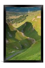 Winnats Pass , Framed Print
