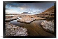 Scarista Salt Flats , Framed Print