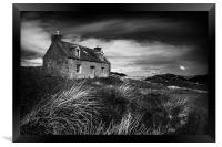 Abandoned Cottage, Framed Print