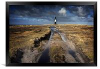 Pembroke lighthouse, Framed Print