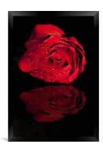 """Reflection Of Love"", Framed Print"