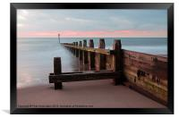 Dawlish Warren at Dawn, Framed Print