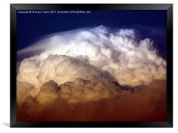 Dark Clouds, Framed Print