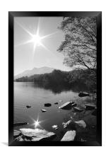 Serenity, Framed Print