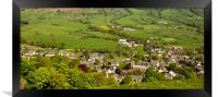 Castleton Derbyshire, Framed Print