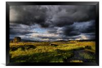Last Light On Rannoch Moor, Framed Print