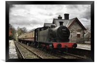 Steam Train 67345, Framed Print