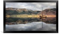 Plain Sailing, Framed Print