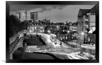 Busy York, Framed Print