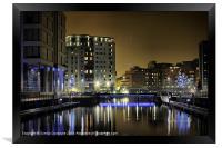 Clarence Dock, Leeds, Framed Print