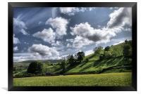 Dalescape ~ Swaledale, The Dales, Framed Print