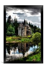 The Secret Fairytale Gatelodge, Framed Print