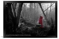 Little Red Riding Hood, Framed Print