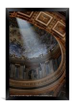 The Light in St Peter's, Framed Print