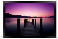 Derwent Water Jetty, Lake Dsitrict, Framed Print