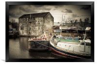Wakefield Wharf, Framed Print