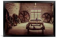 The Wheel House, Framed Print