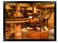 Lurgashall mill, Framed Print