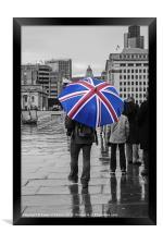British Weather, Framed Print