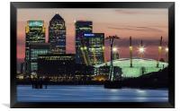 London Docklands, Framed Print