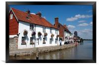 Langstone harbour, Framed Print