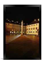 Shadow of the Obelisk, Framed Print