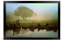 Misty Morning Glory, Framed Print