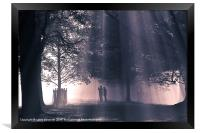 Into the Light 2, Framed Print