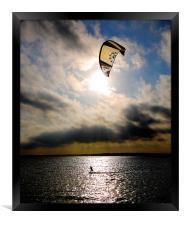 Perfect Kitesurfer, Framed Print