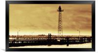 Southampton Royal Pier, Framed Print