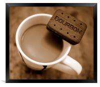 Coffee Break!, Framed Print