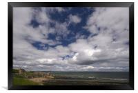 St.Andrews sky, Framed Print