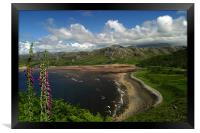 Scottish Coast, Framed Print